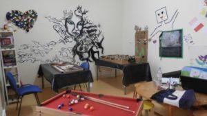 Salle de jeux de l'espace pré-ados